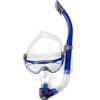 speedo Glide Mask Snorkel Set Grey/Blue